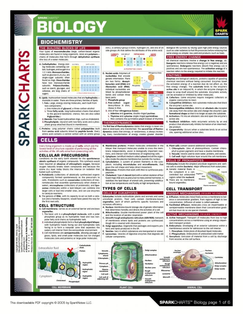 SC-Biology-1 Biochem & Cells